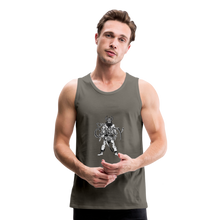 Load image into Gallery viewer, Men's Premium viking Tank - asphalt gray