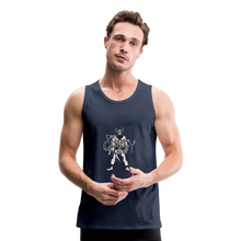 Load image into Gallery viewer, Men's Premium viking Tank - navy
