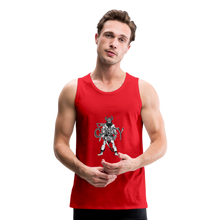 Load image into Gallery viewer, Men's Premium viking Tank - red