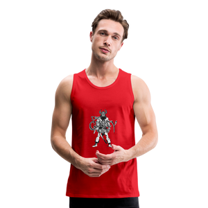 Men's Premium viking Tank - red