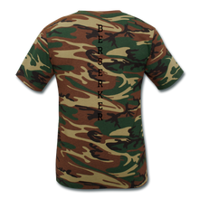 Load image into Gallery viewer, Unisex Camouflage T-Shirt VIKING - green camouflage