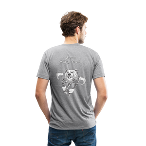 Unisex Tri-Blend T-Shirt viking warrior - heather gray