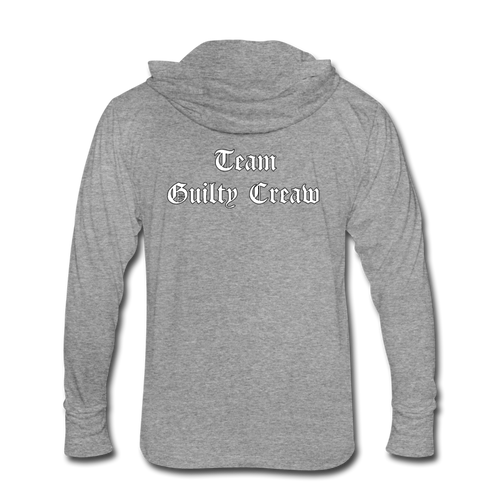 Unisex Tri-Blend Hoodie Shirt vakyrie - heather gray