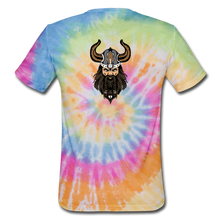 Load image into Gallery viewer, Unisex Tie Dye T-Shirt supporter shirt - rainbow