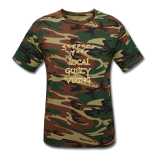 Load image into Gallery viewer, supporter shirt - green camouflage
