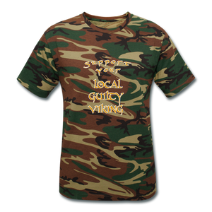 supporter shirt - green camouflage