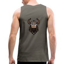 Load image into Gallery viewer, Men's Premium Tank supporter - asphalt gray