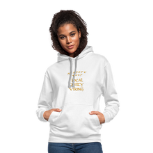 Load image into Gallery viewer, Contrast Hoodie supporter - white/gray