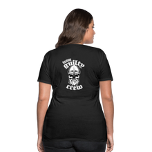 Load image into Gallery viewer, Women's Premium T-Shirt bearded viking skull - black
