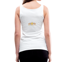 Load image into Gallery viewer, tgc Home Gym Guilty Viking Rat Women's Premium Tank Top - white