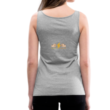 Load image into Gallery viewer, tgc Home Gym Guilty Viking Rat Women's Premium Tank Top - heather gray