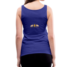 Load image into Gallery viewer, tgc Home Gym Guilty Viking Rat Women's Premium Tank Top - royal blue