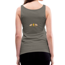 Load image into Gallery viewer, tgc Home Gym Guilty Viking Rat Women's Premium Tank Top - asphalt gray