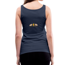 Load image into Gallery viewer, tgc Home Gym Guilty Viking Rat Women's Premium Tank Top - navy