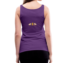 Load image into Gallery viewer, tgc Home Gym Guilty Viking Rat Women's Premium Tank Top - purple