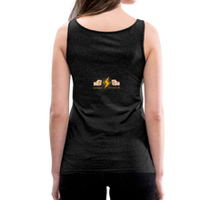 Load image into Gallery viewer, tgc Home Gym Guilty Viking Rat Women's Premium Tank Top - charcoal gray