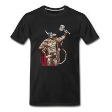 Load image into Gallery viewer, tgc Home Gym Guilty Viking Rat Men's Premium T-Shirt - black