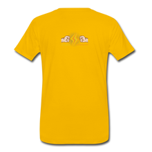 Load image into Gallery viewer, tgc Home Gym Guilty Viking Rat Men's Premium T-Shirt - sun yellow