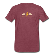 Load image into Gallery viewer, tgc Home Gym Guilty Viking Rat Men's Premium T-Shirt - heather burgundy