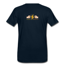 Load image into Gallery viewer, tgc Home Gym Guilty Viking Rat Men's Premium T-Shirt - deep navy
