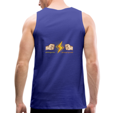 Load image into Gallery viewer, tgc Home Gym Guilty Viking Rat  Men's Premium Tank - royal blue
