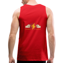 Load image into Gallery viewer, tgc Home Gym Guilty Viking Rat  Men's Premium Tank - red