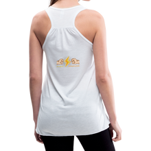 Load image into Gallery viewer, tgc Home Gym Guilty Viking Rat woman Flowy Tank Top by Bella - white