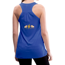 Load image into Gallery viewer, tgc Home Gym Guilty Viking Rat woman Flowy Tank Top by Bella - royal blue