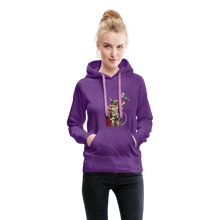 Load image into Gallery viewer, tgc Home Gym Guilty Viking Rat Women's Premium Hoodie - purple