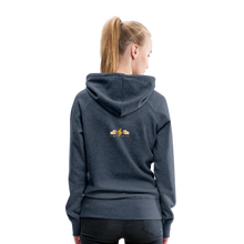Load image into Gallery viewer, tgc Home Gym Guilty Viking Rat Women's Premium Hoodie - heather denim