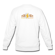 Load image into Gallery viewer, Home Gym Guilty Viking Rat Crewneck Sweatshirt - white