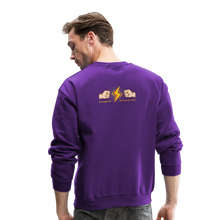 Load image into Gallery viewer, Home Gym Guilty Viking Rat Crewneck Sweatshirt - purple