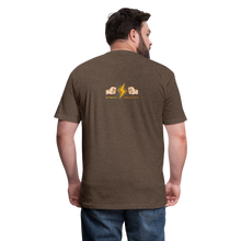 Load image into Gallery viewer, Home Gym Guilty Viking Rat Fitted Cotton/Poly T-Shirt by Next Level - heather espresso