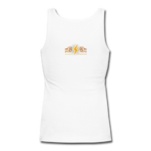 Load image into Gallery viewer, Home Gym Guilty Viking Rat  Women's Longer Length Fitted Tank - white