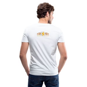 Home Gym Guilty Viking Rat Men's V-Neck T-Shirt - white
