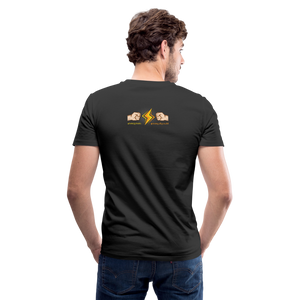 Home Gym Guilty Viking Rat Men's V-Neck T-Shirt - black