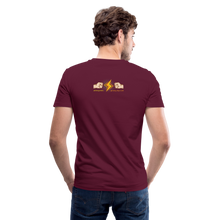 Load image into Gallery viewer, Home Gym Guilty Viking Rat Men's V-Neck T-Shirt - maroon