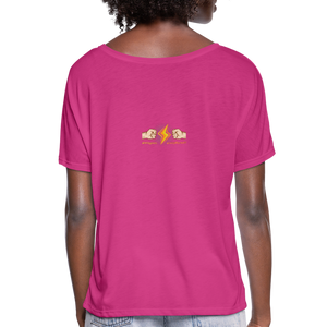 Home Gym Guilty Viking Rat Women's Flowy T-Shirt - dark pink