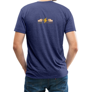 Home Gym Guilty Viking Rat Unisex Tri-Blend T-Shirt - heather indigo