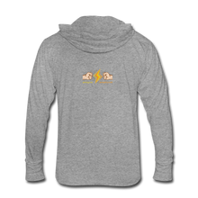 Load image into Gallery viewer, Home Gym Guilty Viking Rat Unisex Tri-Blend Hoodie Shirt - heather gray
