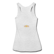 Load image into Gallery viewer, Home Gym Guilty Viking Rat Women's Tri-Blend Racerback Tank - heather white