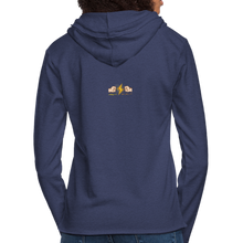 Load image into Gallery viewer, Home Gym Guilty Viking Rat Unisex Lightweight Terry Hoodie - heather navy