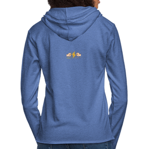 Home Gym Guilty Viking Rat Unisex Lightweight Terry Hoodie - heather Blue
