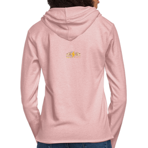 Home Gym Guilty Viking Rat Unisex Lightweight Terry Hoodie - cream heather pink