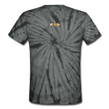 Load image into Gallery viewer, Unisex Tie Dye T-Shirt - spider black