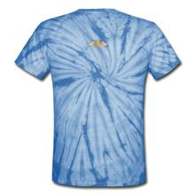 Load image into Gallery viewer, Unisex Tie Dye T-Shirt - spider baby blue
