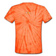 Load image into Gallery viewer, Unisex Tie Dye T-Shirt - spider orange