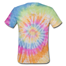 Load image into Gallery viewer, Unisex Tie Dye T-Shirt - rainbow
