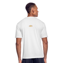 Load image into Gallery viewer, Men's Moisture Wicking Performance T-Shirt - white