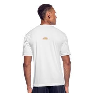 Men's Moisture Wicking Performance T-Shirt - white